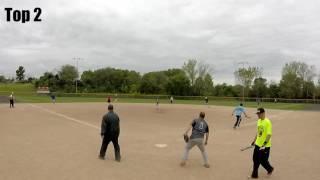 2016 Home Runs for Heroes - Mens Rec - Randolph Farms/Evil Sports vs Tanked