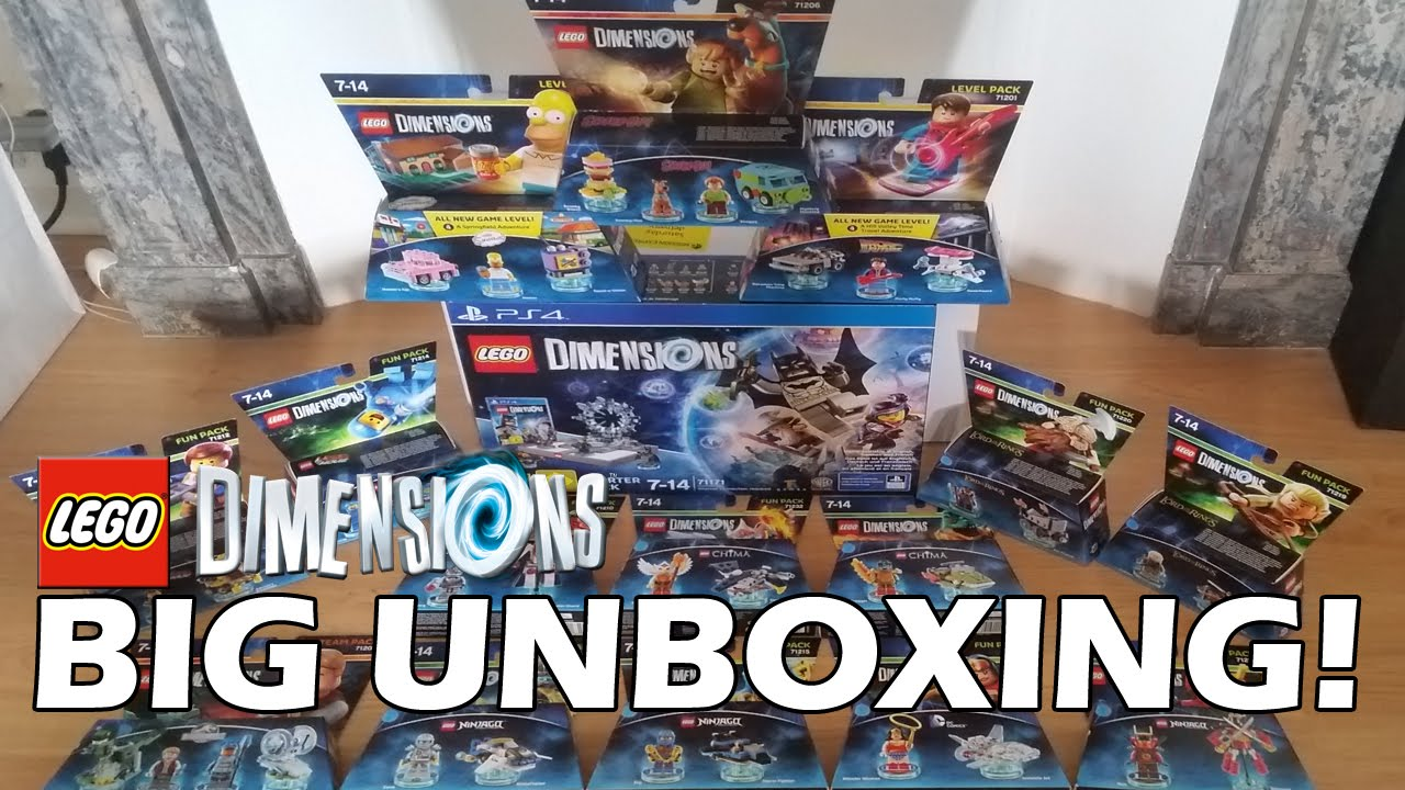 lego dimensions unboxing