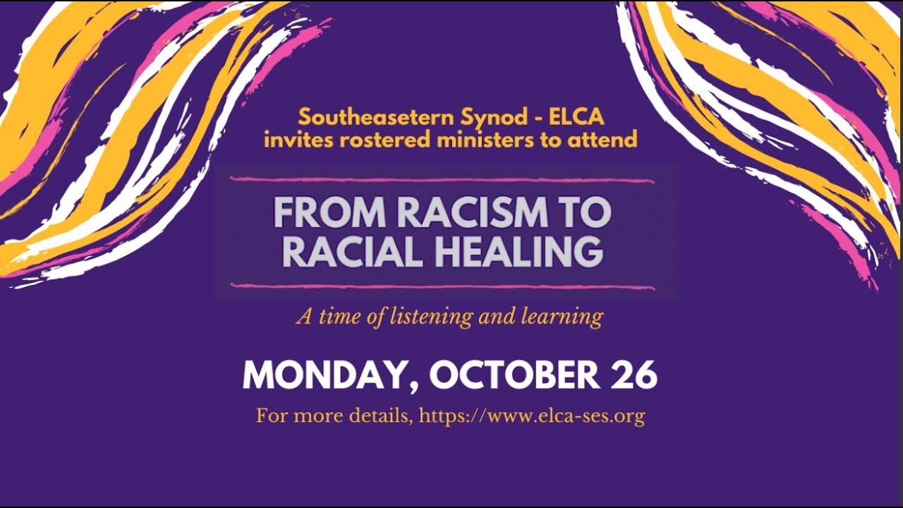 Racial Healing with Dr. Catherine Meeks – 10-26-2020