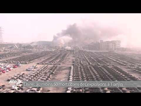 gigantesques explosions en chine 50 morts et plus de 700. Black Bedroom Furniture Sets. Home Design Ideas