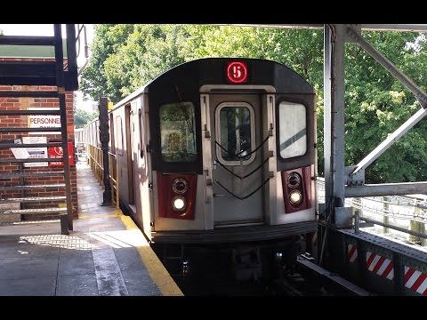 On Board Dyre Avenue Bound R142 (5) Express Train From Bowling Green to 125th Street