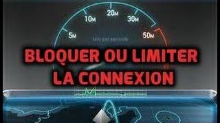 Bloquer Ou Limiter La Connexion Internet D'un Utilisateur De Même Réseau