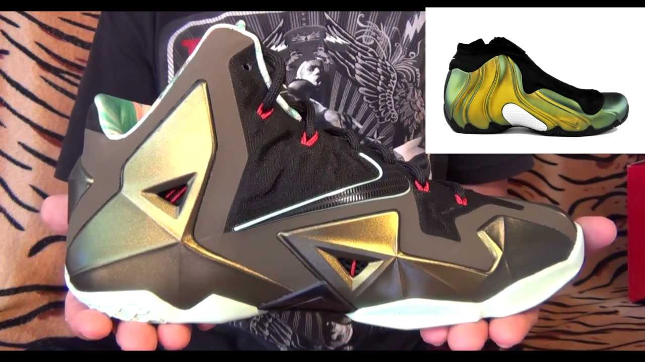 Видео-обзор Nike LeBron XI (11)
