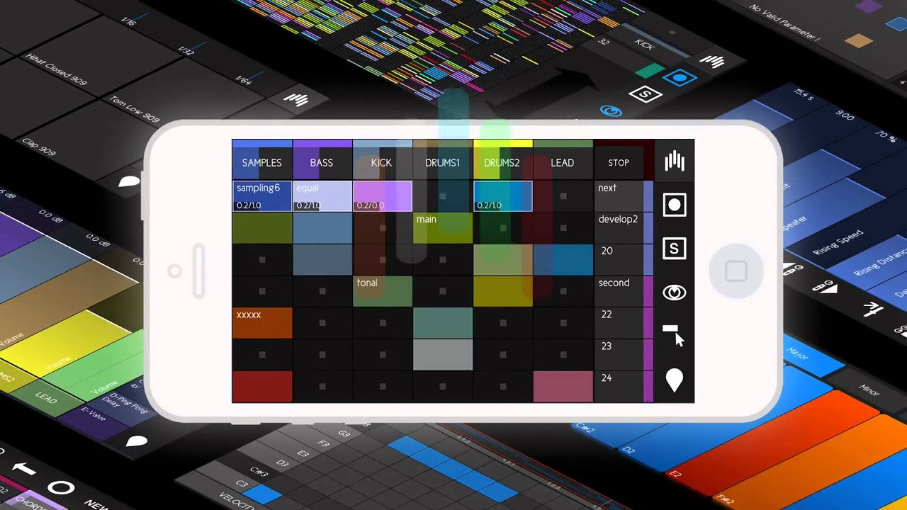 touchAble Mini - Control Ableton Live with iPhone & iPod touch