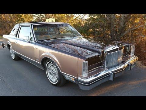 1982 Lincoln Mark Vi American Classic Luxury Coupe Youtube