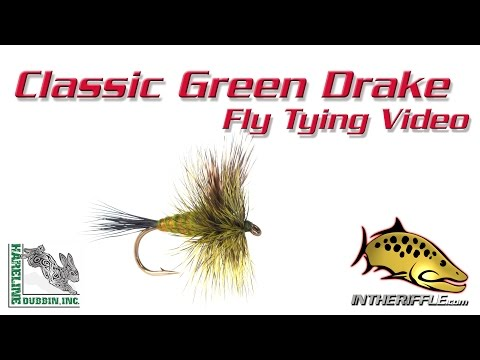 Classic Green Drake Fly Tying Video Instructions