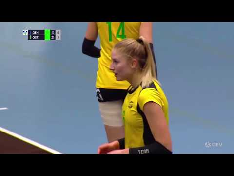 Barbara Zakościelna OUTSIDE HITTER season 2019-2020 Highlights CEV CUP