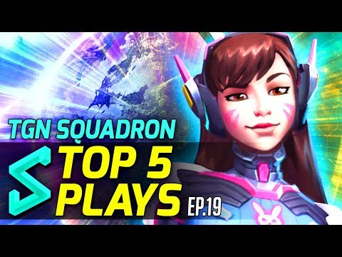 TGN Squadron's Top 5 Plays in Heroes of the Storm | Episode 19