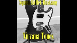 Nirvana Tons à l'aide de la Squier Bullet Mustang HH 2016