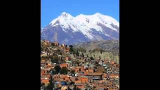 Los 5 Cerros o Montañas más altas de Bolivia