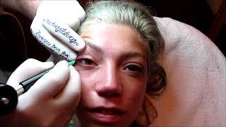 Tatuaj ochi. Galerie cu 2000 video http://www.machiajtatuaj.ro Zarescu Dan $D$ M6371