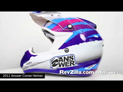 Answer Comet Helmet at RevZilla.com