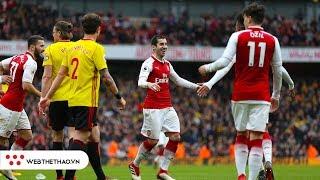 Đối đầu Watford vs Arsenal (Vòng 34 Ngoại hạng Anh 2018/19)