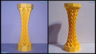 Column miura paraboloid Paper Folding origami