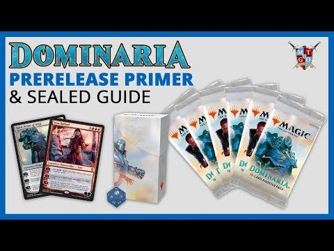 MtG: Dominaria Prerelease Primer and Sealed Guide | What to bring and what to Expect