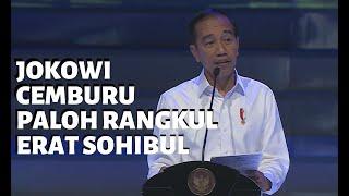Jokowi Cemburu Surya Paloh Rangkul Erat Presiden PKS Sohibul Iman