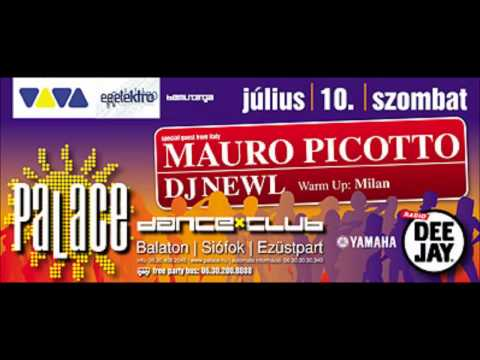 Mauro Picotto   Live at Palace, Hungary 10 07 2004