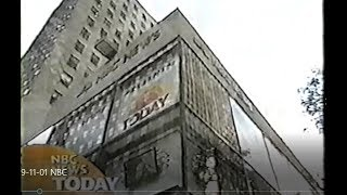 Today Show 9-11-01 - Live on NBC as Tragedy Occurred