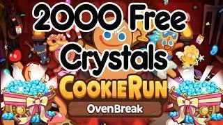 Cookie Run Ovenbreak 2000 FREE Crystals