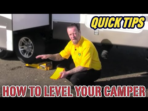 How to Level Your Camper | Pete's RV Quick Tips (CC)