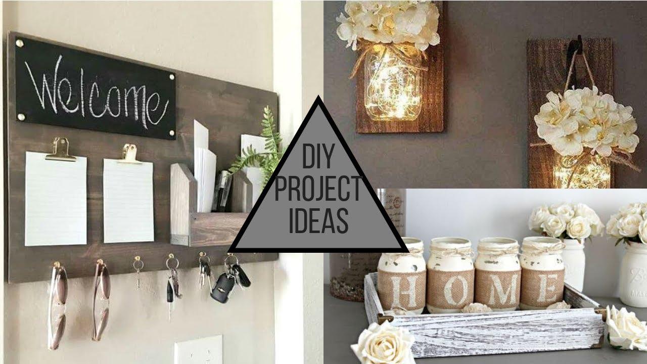 2019 Diy Modern Trendy Home Decorating Ideas Youtube