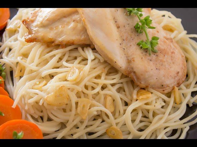 ثلث ساعة  - الجزء الأول: دجاج بصوص الثوم و السكر - مهلبية بالموز والعسل
