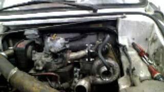 moteur voiturette turbo diesel, voiture sans permis
