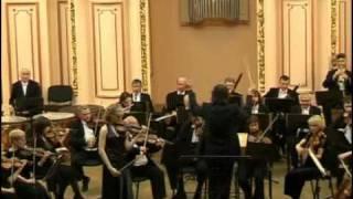 J. Brahms Violin Concerto D-dur Op. 77, 1 mvt (2of4), Oksana Hretchyn