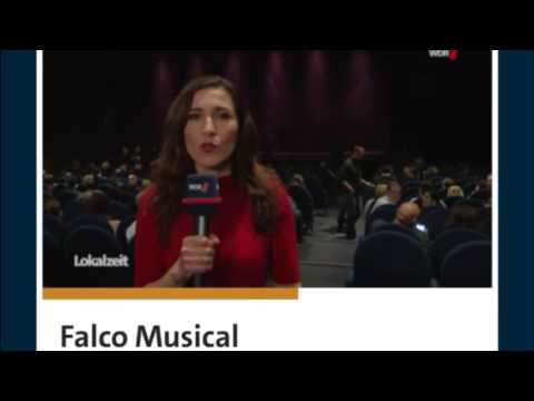 WDR Beitrag - Falco das Musical mit Alexander Kerbst