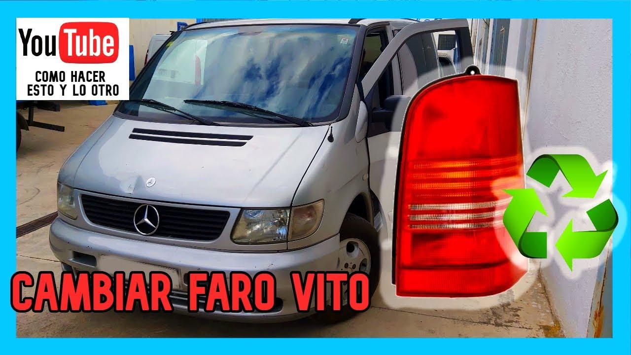 🔧Cambiar FARO/PILOTO | Mercedes VITO W368 🚐 | TUTORIAL