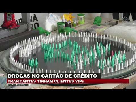 Quadrilha Vende Drogas No Cartão De Crédito Em Curitiba