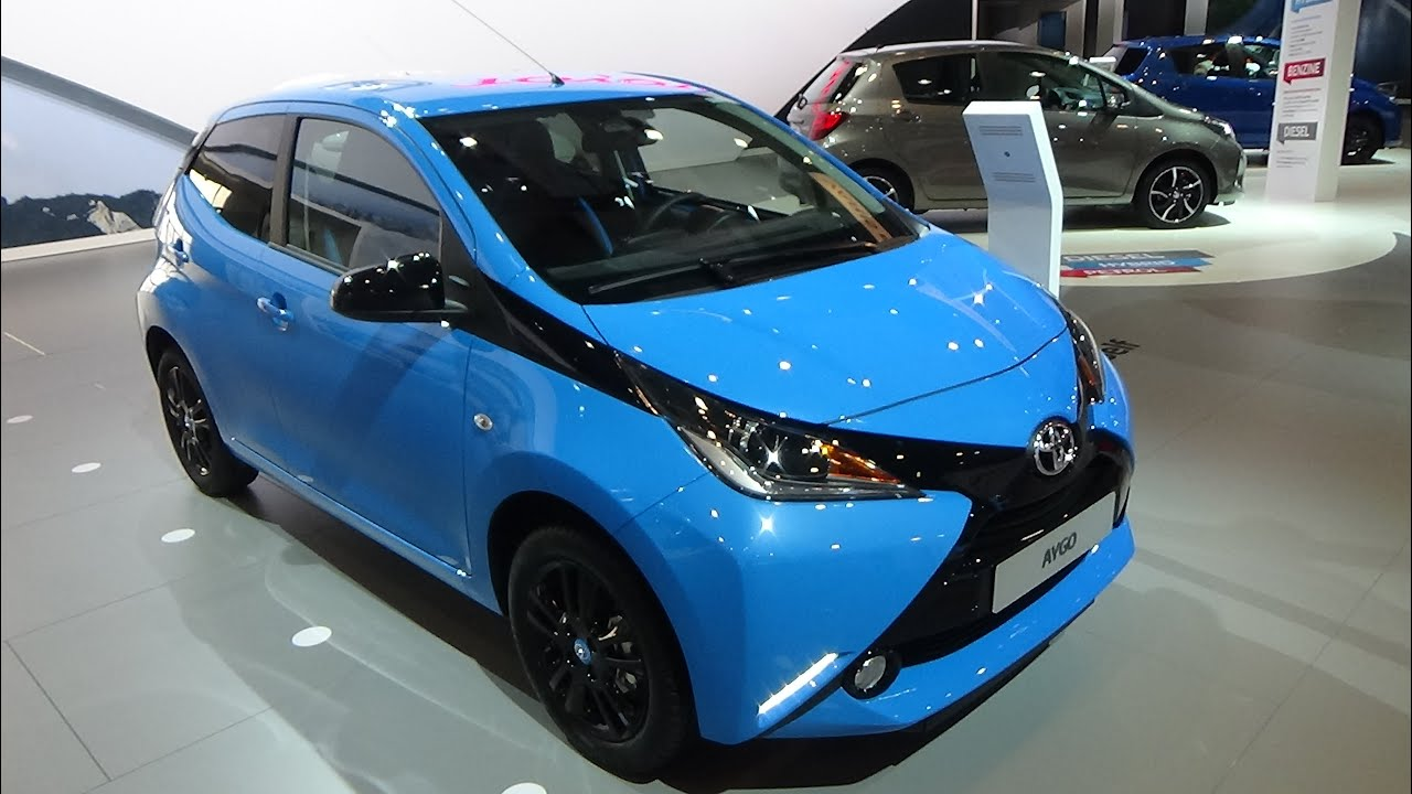 2016 toyota aygo exterior and interior auto show brussels 2016 youtube. Black Bedroom Furniture Sets. Home Design Ideas