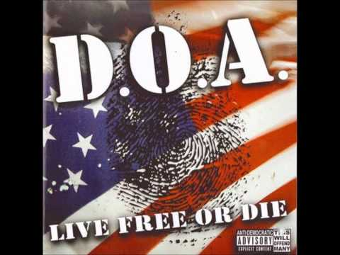D.O.A. - Can't push me around