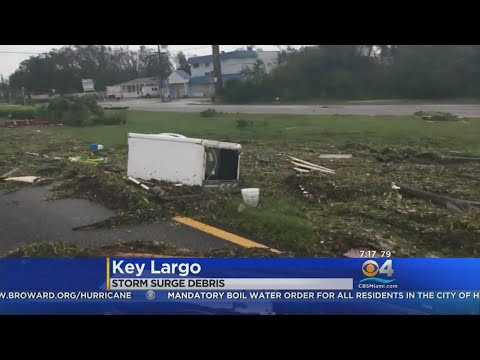 Monroe County Officials Make Their Way Back After Irma