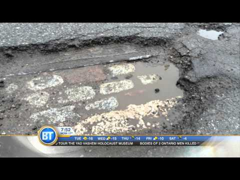 Uncovering old streetcar tracks beneath the surfaces of Toronto