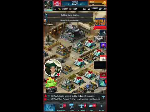 Mobile Strike 101 - They trying to rally the God?