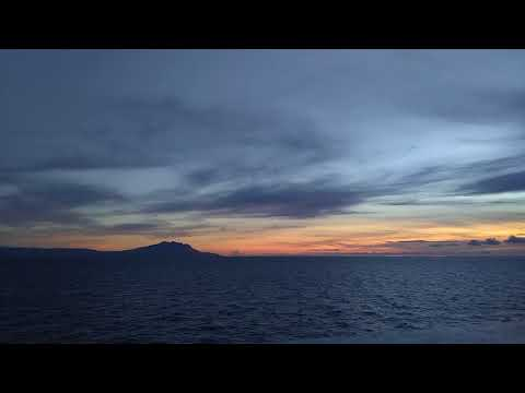 Sunrise at Tablas strait (Romblon, Philippines)