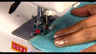 02 Zig Zag Sewing (usha Janome Style Maker Series)