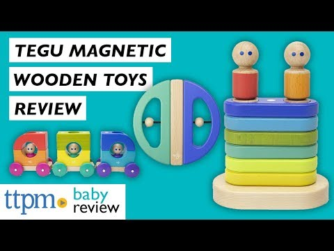 Magnetic Wooden Toys From Tegu