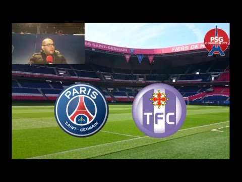 Live radio PSG-Toulouse #PSGTFC #TEAMPSG #PSG #LIGUE1