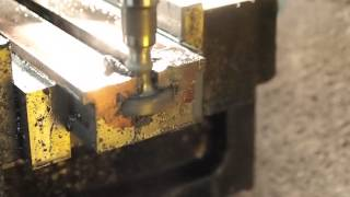 Stuart models Engineering lathe, Lathe bed pt4