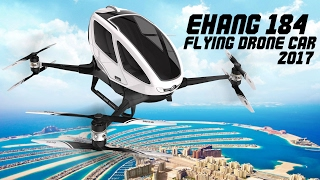 EHang 184/Personal flying drone car/Flying taxi/Self Flying Car/Flying Car/Dubai Flying Car