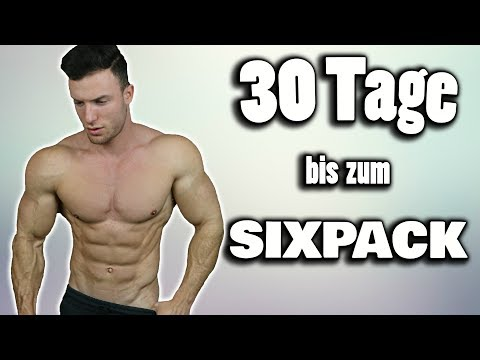 Die 30 Tage Sixpack Challenge | Workout fr Zuhause