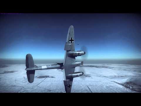 War Thunder : Me410 vs Beaufighter