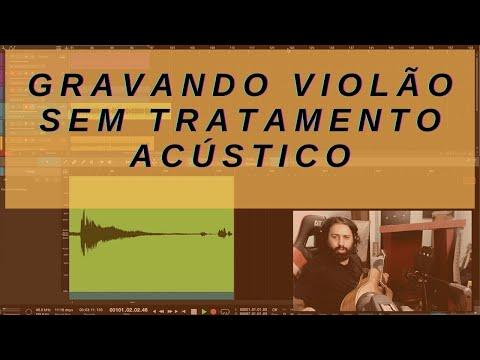 Gravando Violão com acústica improvisada e Baixo de bônus [Vlog 5]