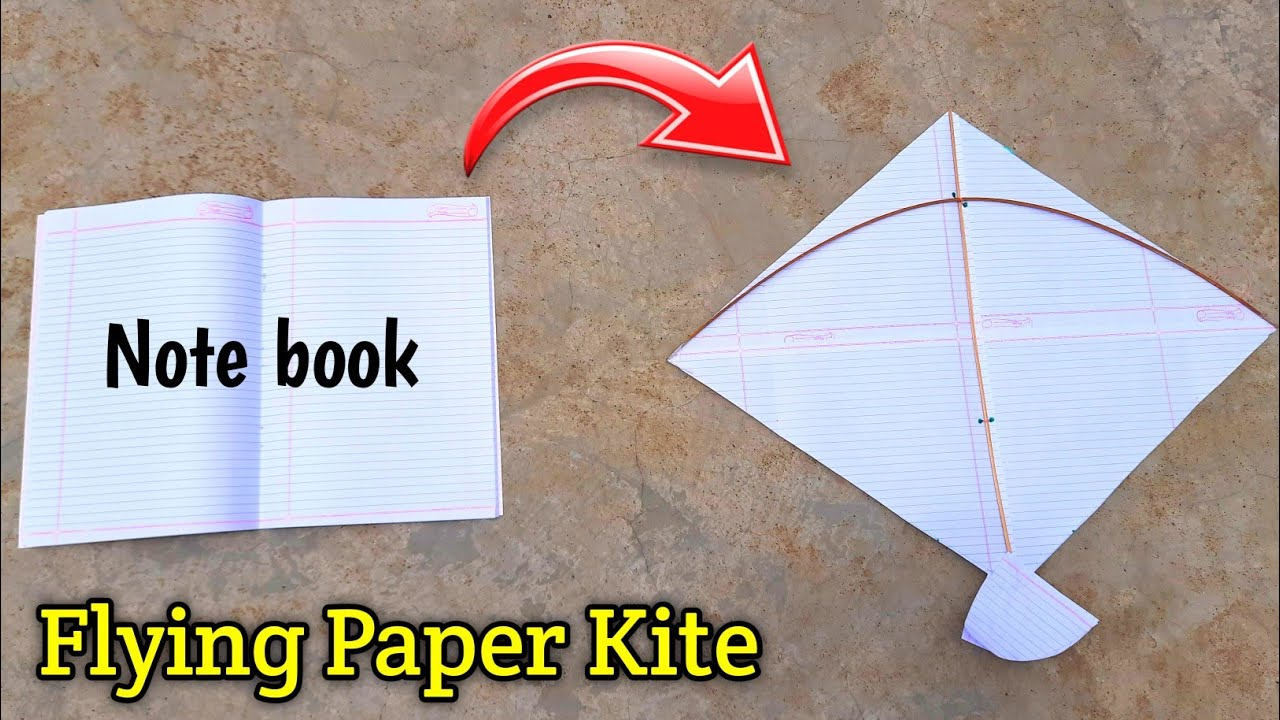 How to make kite , how to make note book paper kite , patang kese banate hai , lockdown kite making