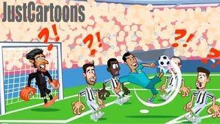 ملخص مباراة ريال مدريد و جوفنتوس بشكل كوميدي ساخر 3-0 ...مضحك جداً juventus 0-3 réal Madrid  .