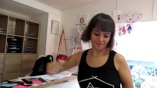 Alizee autograph session at dance studio Ajaccio Sept 19 2018