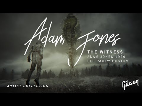 The Witness by Adam Jones Introduces The Gibson 1979 Les Paul Custom