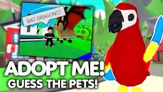 Kennst du ALLE PETS in Adopt Me (Noob vs Pro) ? | Roblox/Deutsch